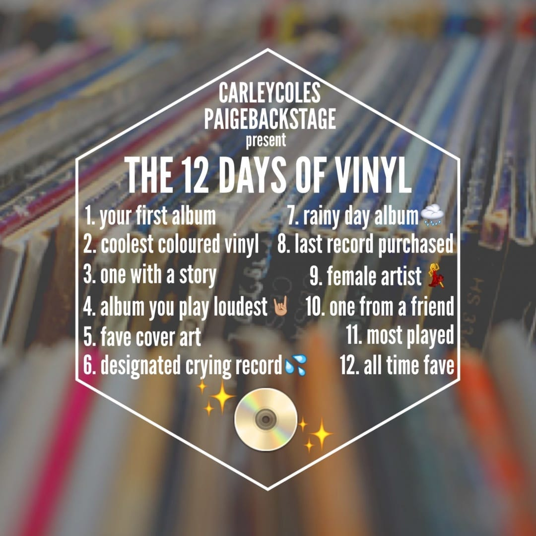12 days of vinyl rules photo