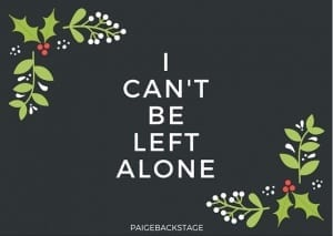 Pop Punk Christmas Cards // PaigeBackstage.com