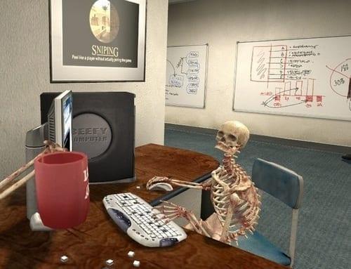 skeleton computer