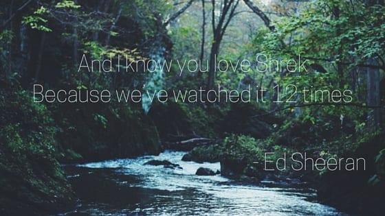 Wake Me Up - Ed Sheeran worst lyrics