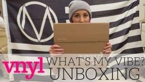 VNYL #GRIZFOLK Unboxing on PaigeBackstage.com