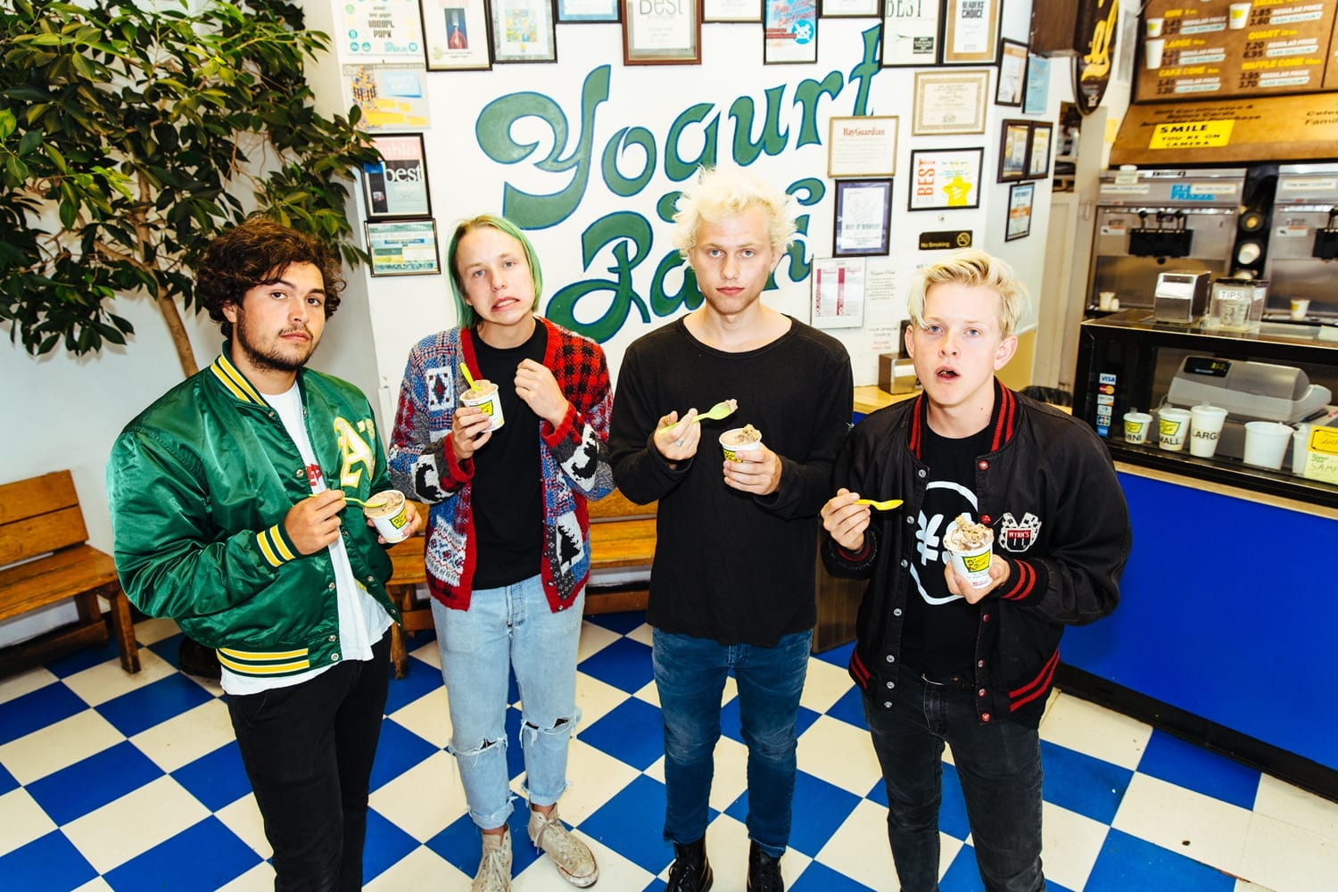 Interview with Cole of SWMRS // PaigeBackstage.com