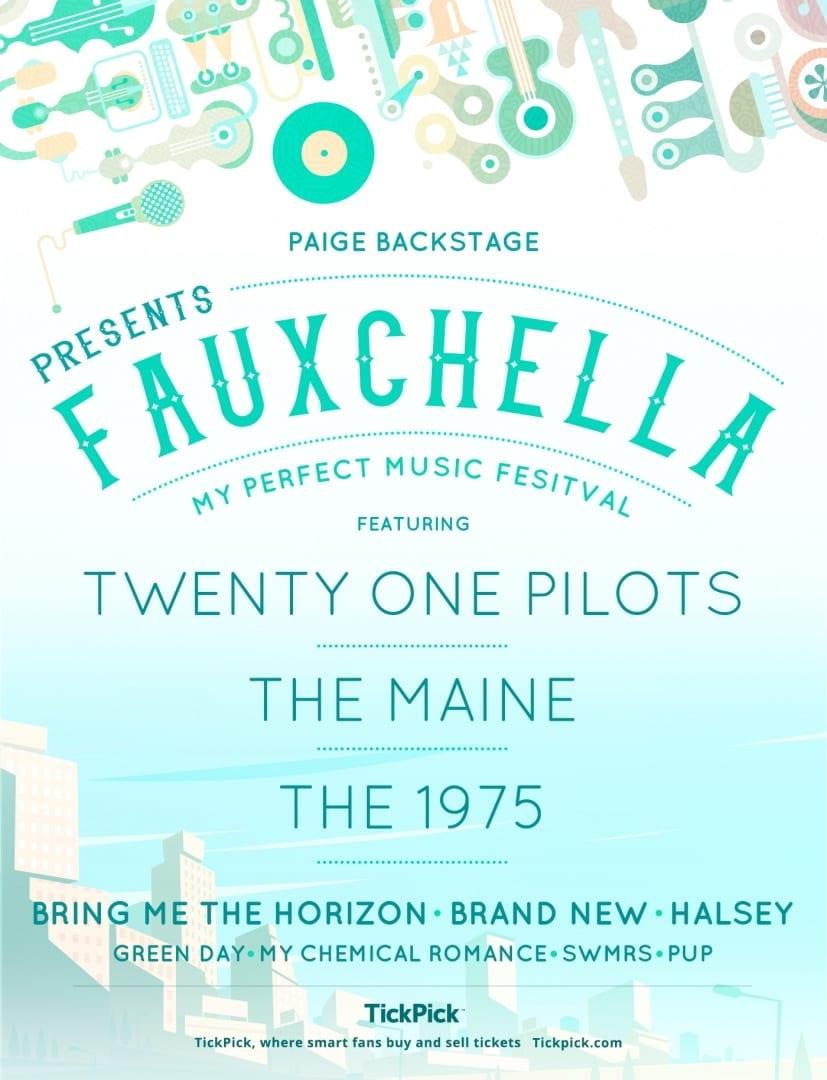 Fauxchella Festival Lineup on PaigeBackstage.com