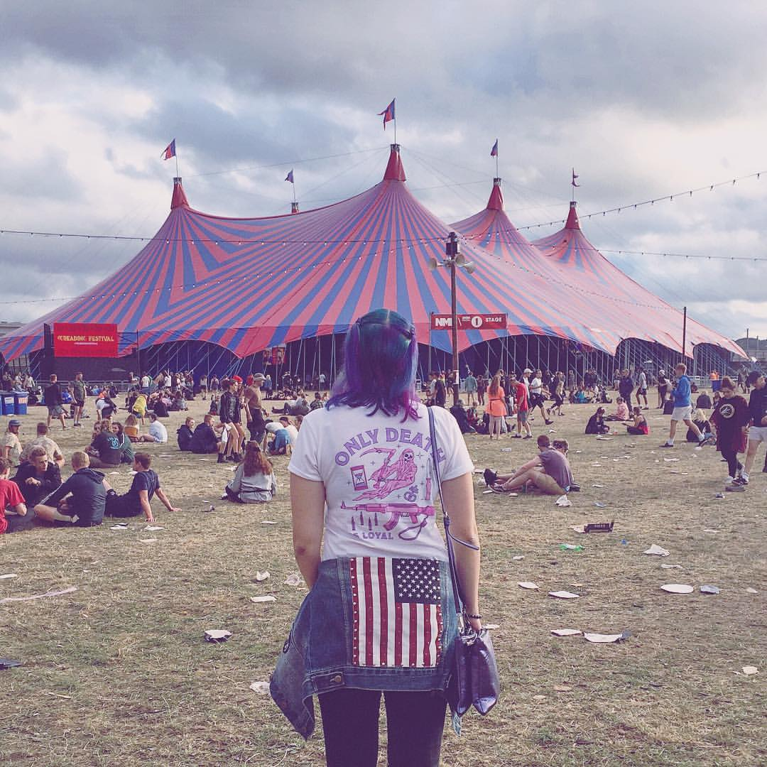 Reading Festival candid