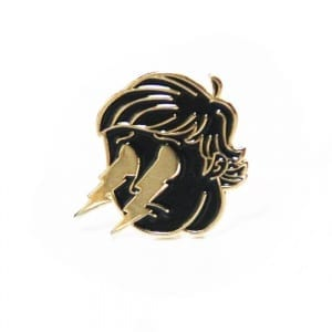 "Arctic Monkeys ""Crying Lightning"" pin from This Chepooka"