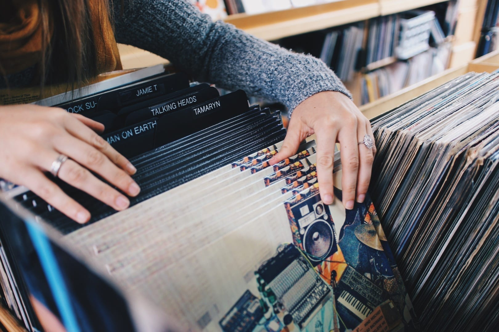 Vinyl Subscription Services // Holiday Gifts for Music Fans on PaigeBackstage.com