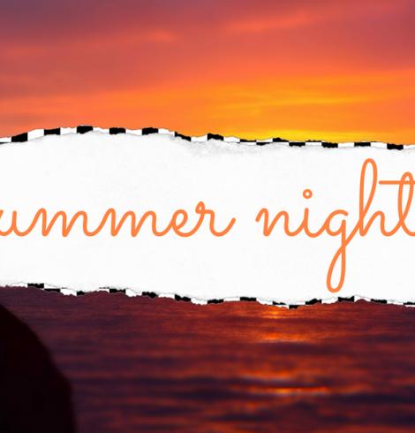 Playlist ♡ Summer Nights
