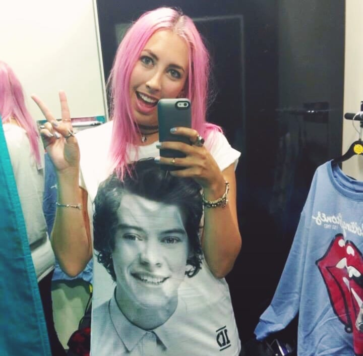 Paige Backstage Harry Styles Primark Shirt ♡ The Real Problem With Boybands on PaigeBackstage.com