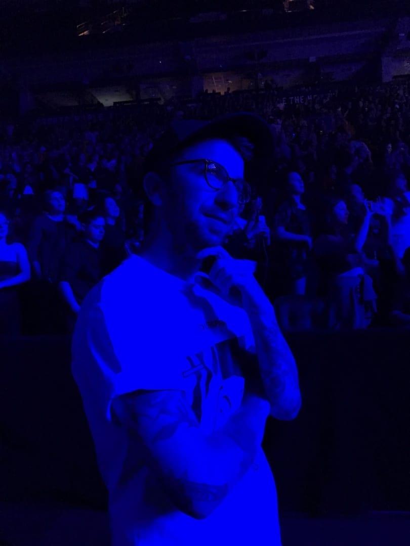 Aaron at Halsey HFK Tour Toronto
