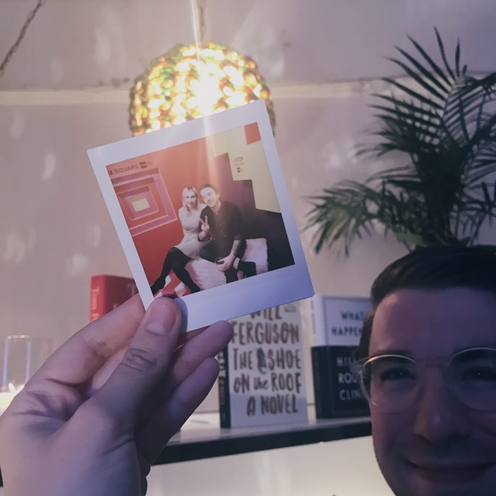 Instax photo at SheDoesTheCity 10 year event