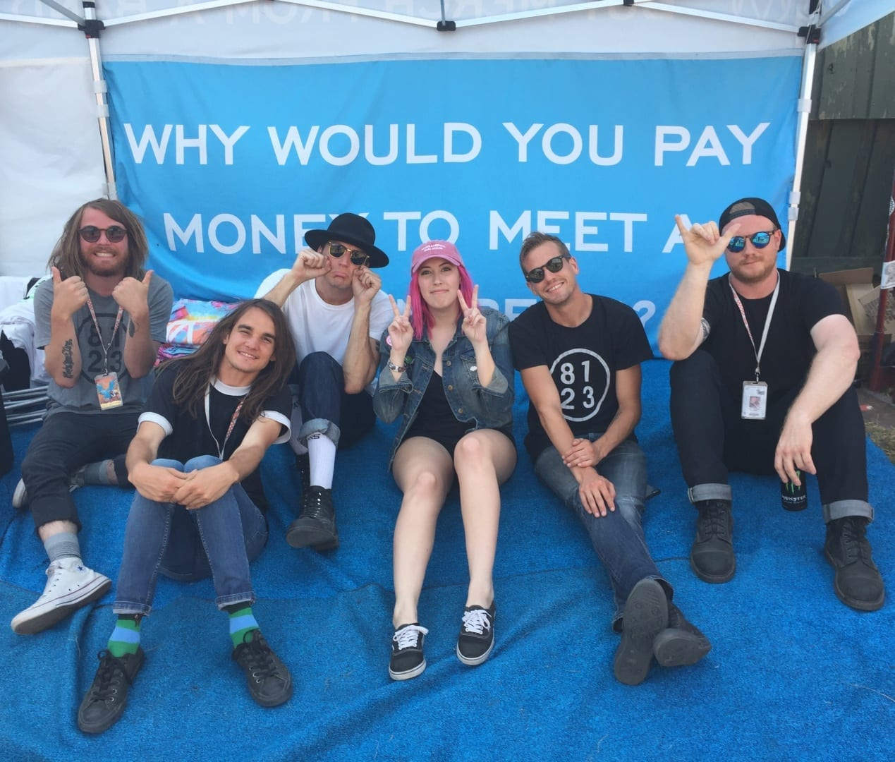 The Maine - Warped Tour 2016