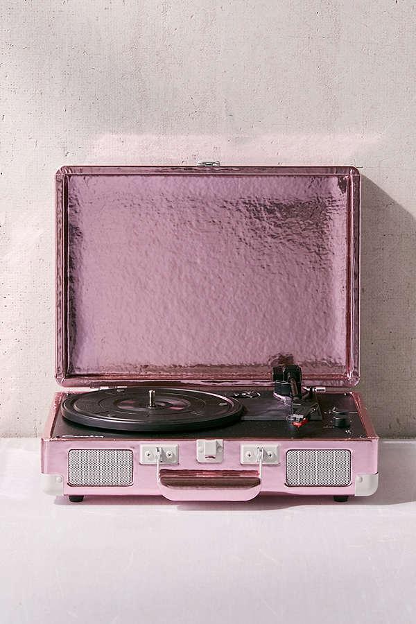 Pink Foil Crosley Cruiser