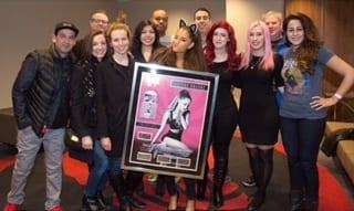 Ariana Grande meet and greet photo