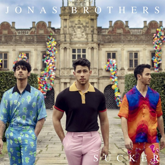 Jonas Brothers Sucker single cover art