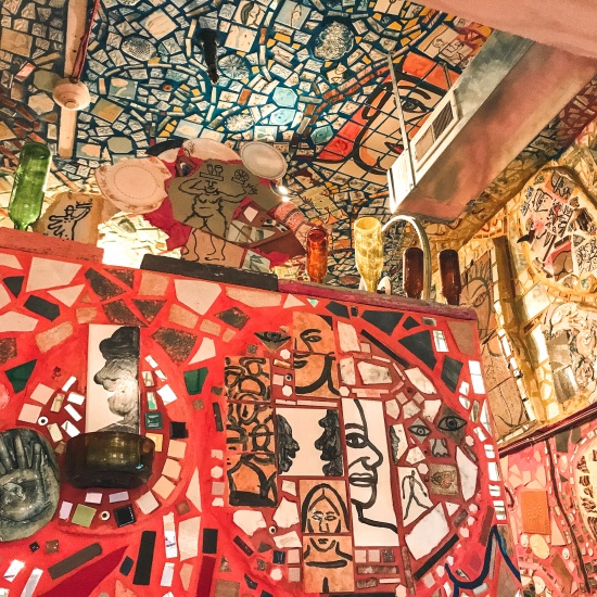 Visit Philly trip - Philadelphia's Magic Gardens