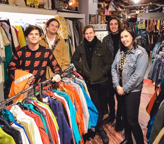 The Faim vintage shopping with Paige Backstage